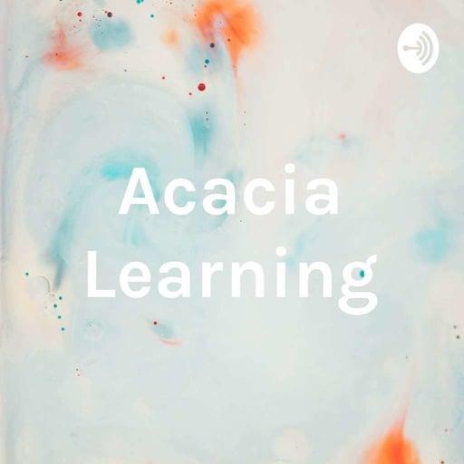 Acacia Learning Webinars