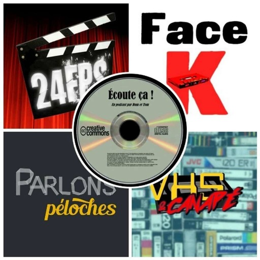 Ep 34 : Zikdepod 6 (VHS & Canapé, Face K, 24 FPS, Parlons Péloches)