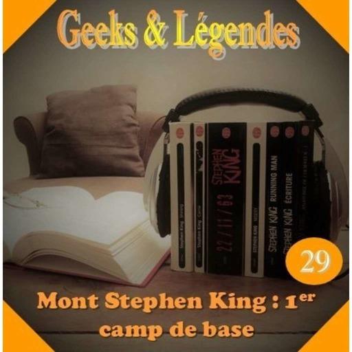 29. Mont Stephen KING – 1er camp de base