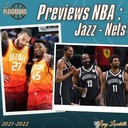 Les previews NBA 2021-22 : Utah Jazz et Brooklyn Nets