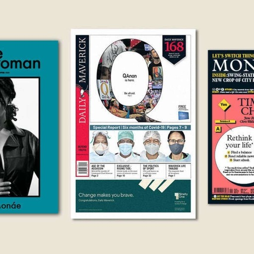 'The Gentlewoman', 'Daily Maverick', Monocle's November issue