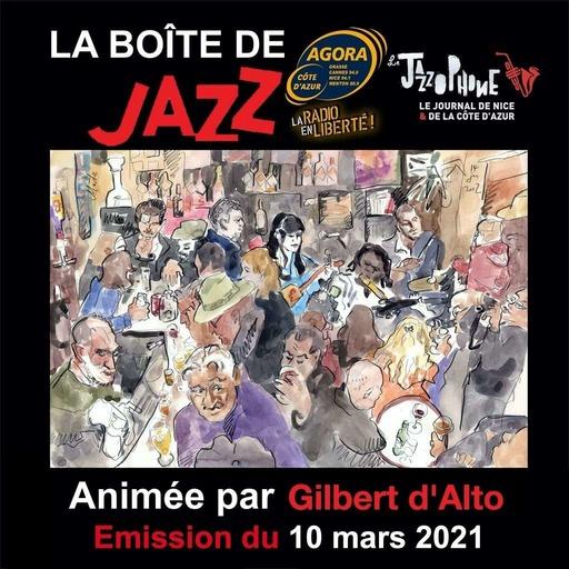 La Boîte de Jazz du 10 mars 2021 - Spéciale Nouveautées