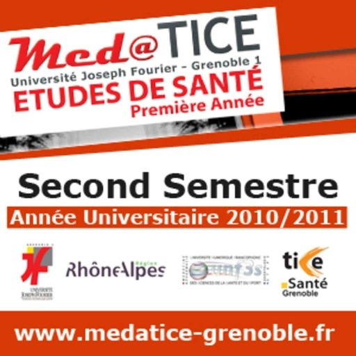 med@TICE PAES Second Semestre 2010/2011 - Video - Faculté de Médecine et de Pharmacie de Grenoble - Université Joseph Fourier Grenoble 1 (UJF)