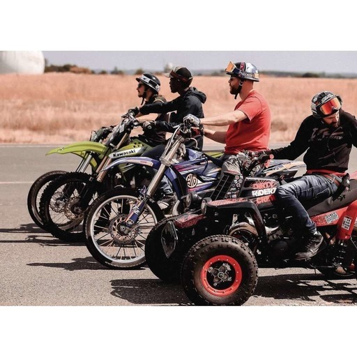 Pack du Dirty Riderz Crew, en roues libres !