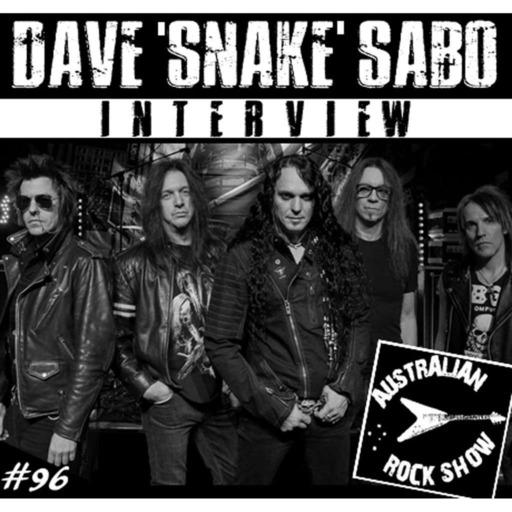 Episode 96 - Dave 'Snake' Sabo Interview - Skid Row