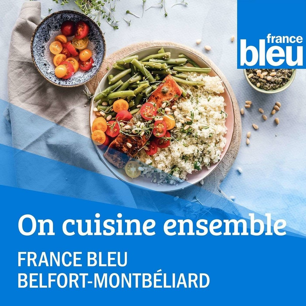 On cuisine ensemble France Bleu Belfort Montbéliard