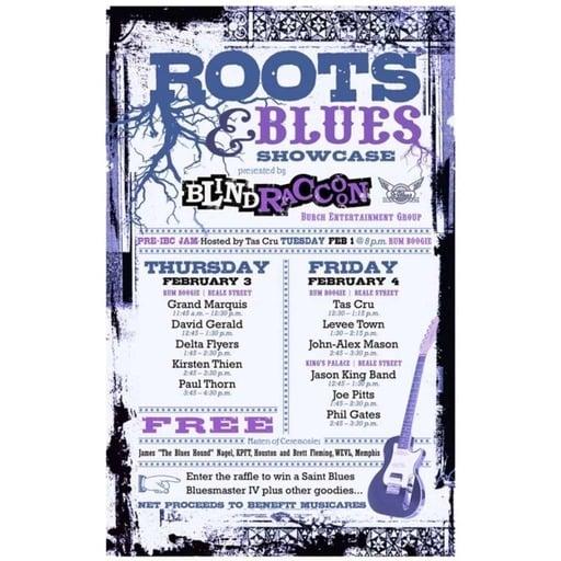 The BluzNdaBlood Show #112, Blind Raccoon Blues!