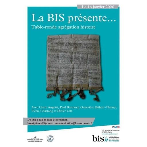 Bibliothèque interuniversitaire Sorbonne - [Table ronde] Programme d'agrégation d'histoire, Bibliothèque interuniversitaire Sorbonne, Paris, 16 janvier 2020.mp3