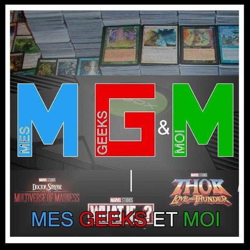 #08 Mes Geeks Et Moi : Jeux non vidéo, 1 ere XBOX et la phase 4 du MCU