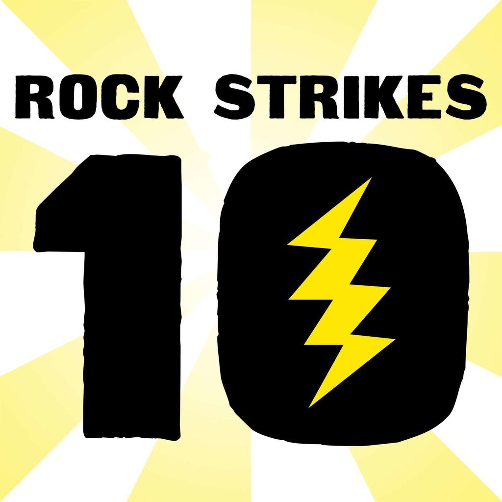 Rock Strikes Ten