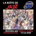La Boîte de Jazz du 13 mai 2020 part en Live