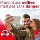 28 octobre 2021 - Prendre des selfies n'est pas sans danger - Sur le pouce