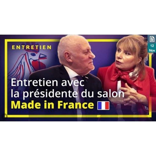 UPRTV - Entretien avec la présidente du salon Made in France - Fabienne Delahaye - 2019-11-12