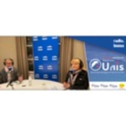 Danielle DUBRAC, Présidente UNIS et Edouard MORLOT, Président UNIS Normandie - Emission spéciale en Régions, avec l'UNIS et la FNAIM