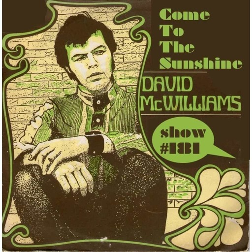 Episode 190: Come To The Sunshine 181 - David McWilliams