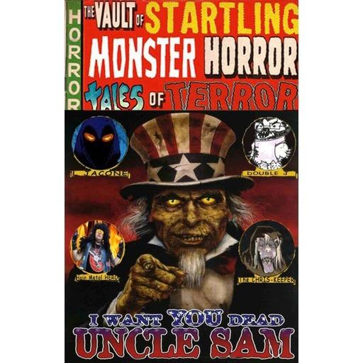 The Vault Of Startling Monster Horror Tales Of Terror 92 - Uncle Sam