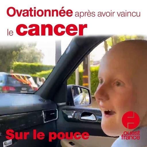 27 mars 2020 - Ovationnée après avoir vaincu le cancer - Sur le pouce