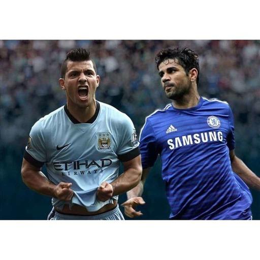 AGÜERO V COSTA: Who's the League's best striker?