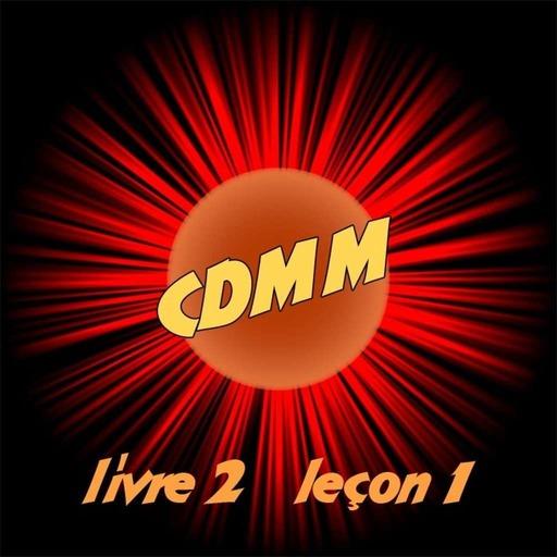 CDMM : livre 2 — leçon 1