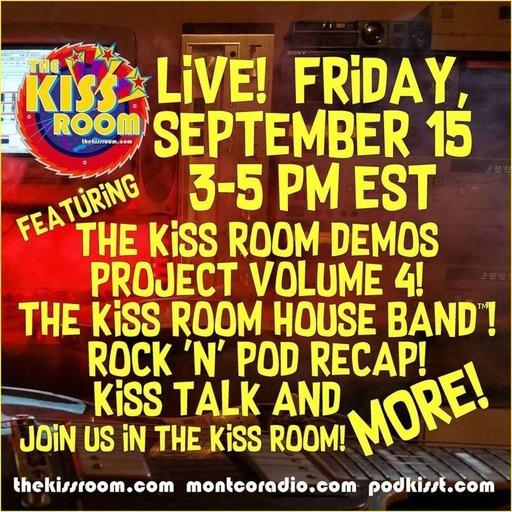 THE KISS ROOM! – SEPTEMBER 2017!