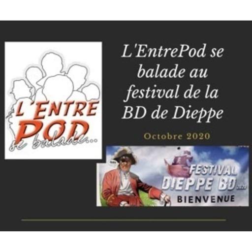 L'EntrePod se balade au festival de la BD de Dieppe