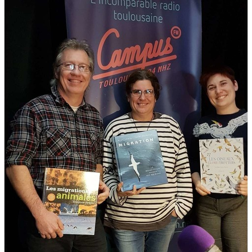 Le nid de pie -29- Animaux voyageurs & pélicans stars du grand écran ft Peggy et Yannick Clerquin.mp3