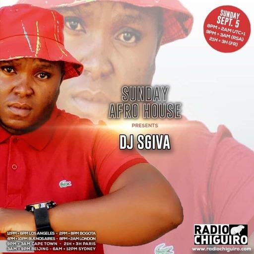 Sunday Afro House #050 - Dj Sgiva