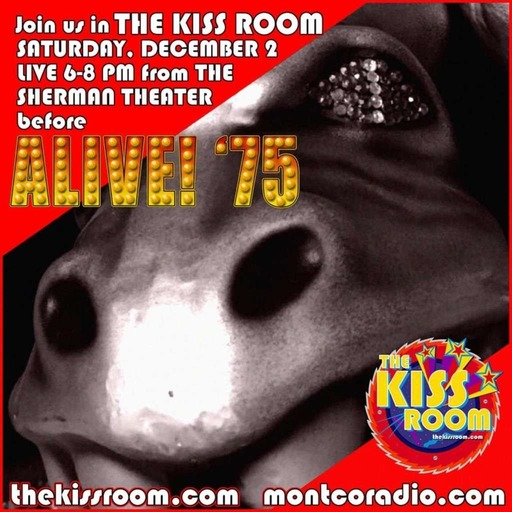 """THE KISS ROOM"" goes ""ALIVE! '75"""