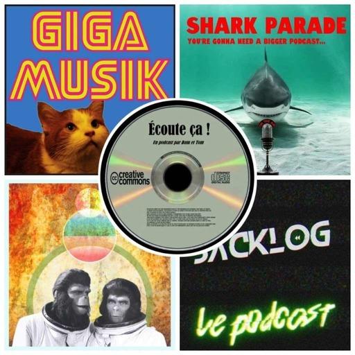 Ep 31 : Zikdepod 3 ( Cornelius & Zira, Shark Parade, Giga Musik, Backlog)