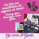 Apero Voyance de Verre et Devin, témoignage de Thierry avec Véronique Saint Gilles