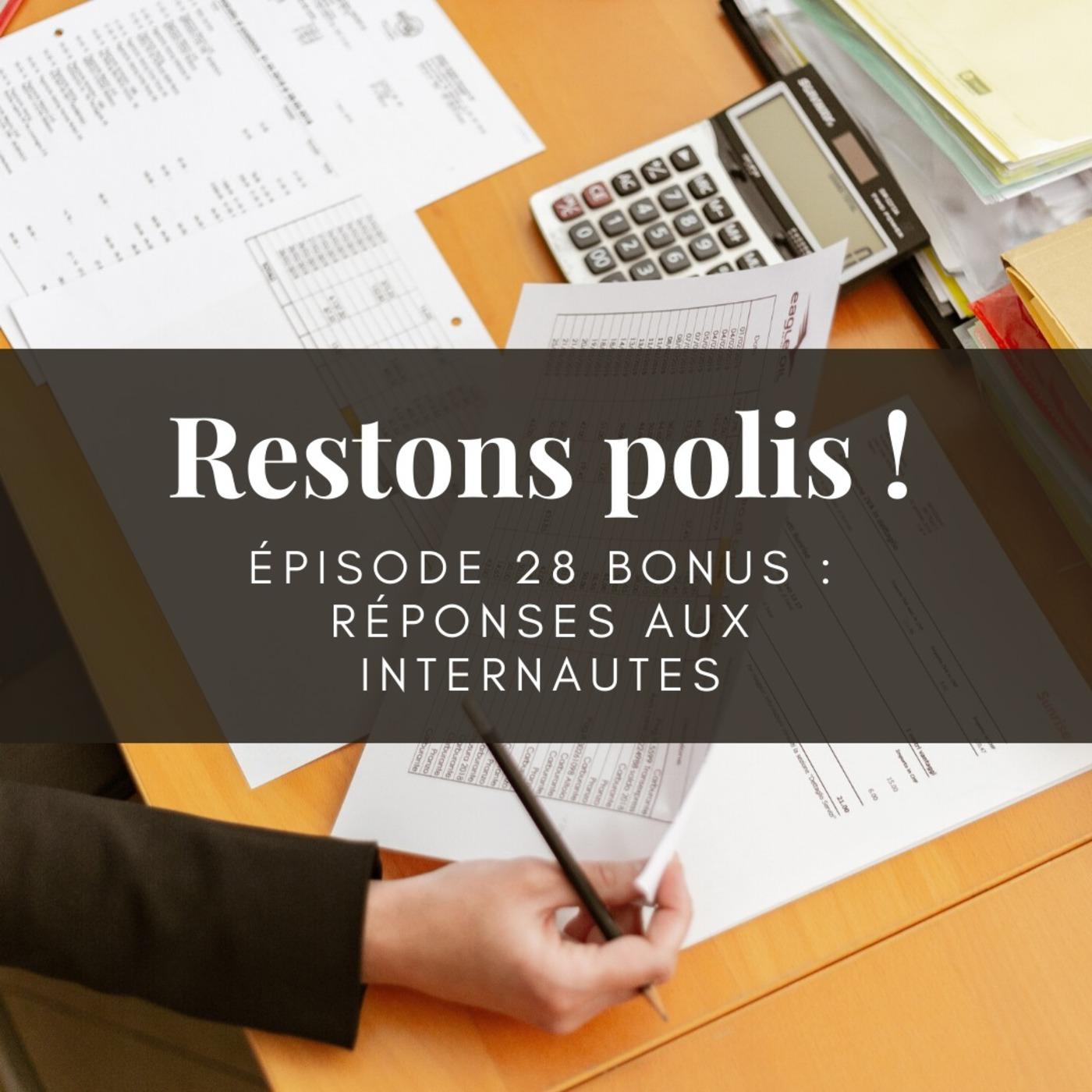 Ep. 28 bis : Réponses aux internautes - C'est quoi la fonction publique ?
