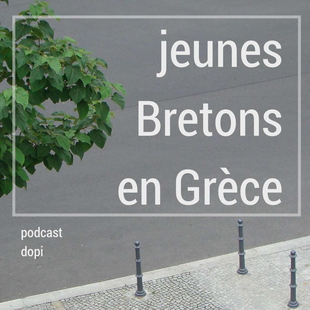 Jeunes Bretons en Grèce