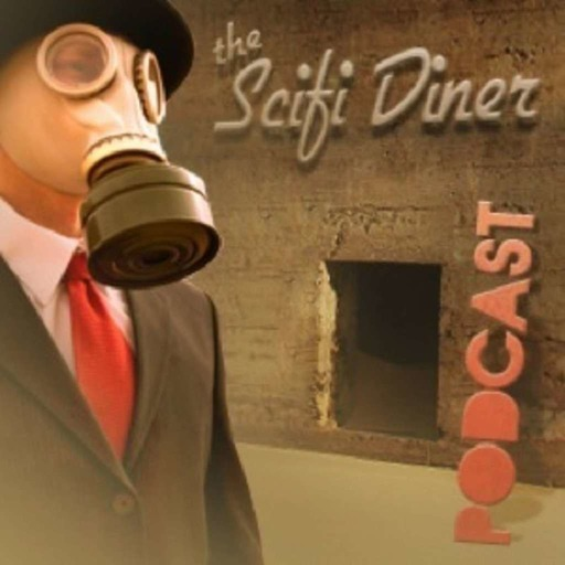 SciFi Diner Podcast Ep. 67 – What Do You Get When You Cross Dayton Ward, Kevin Dilmore, and Bacon Flavored Gum?