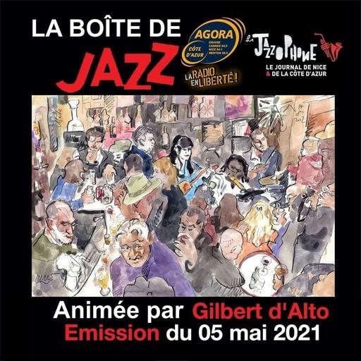 La Boîte de Jazz du 5 Mai 2021 – Spéciale Jazz et Flamenco
