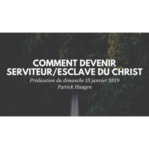 Prédication du dimanche 13 janvier 2019 - Patrick Haugen.mp3