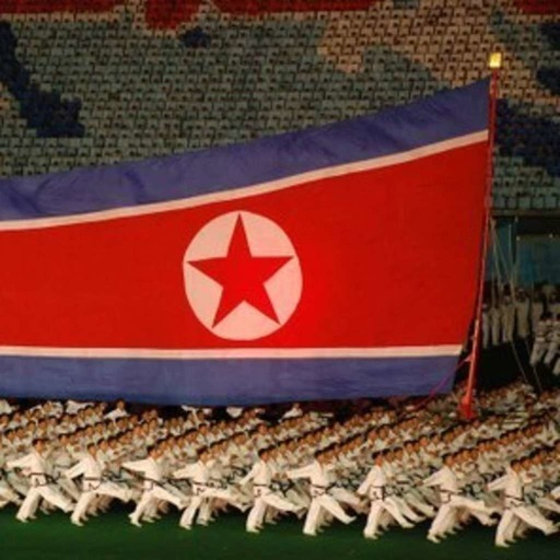 A view inside of the reclusive North Korea