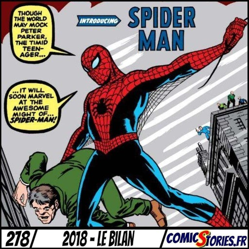 ComicStories #278 - 2018, le bilan
