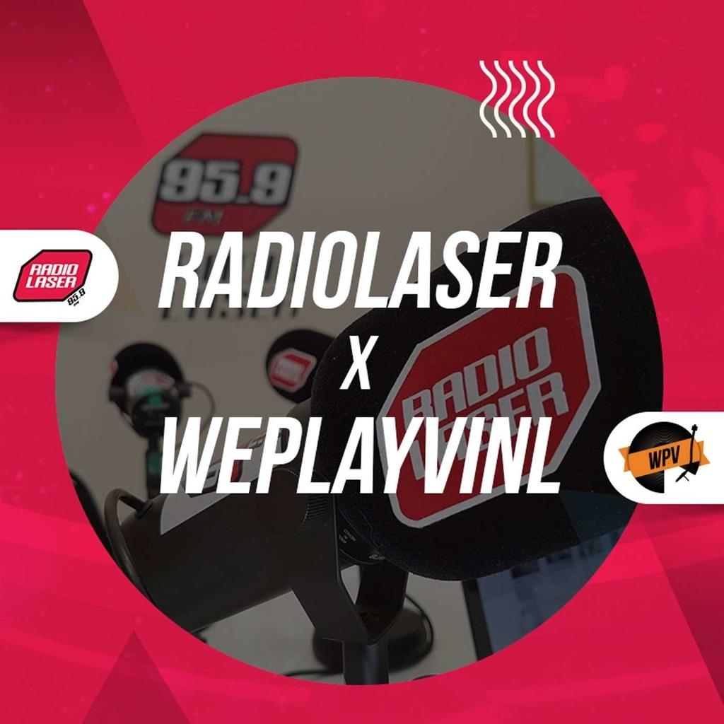 We Play Vinyl x Radiolaser