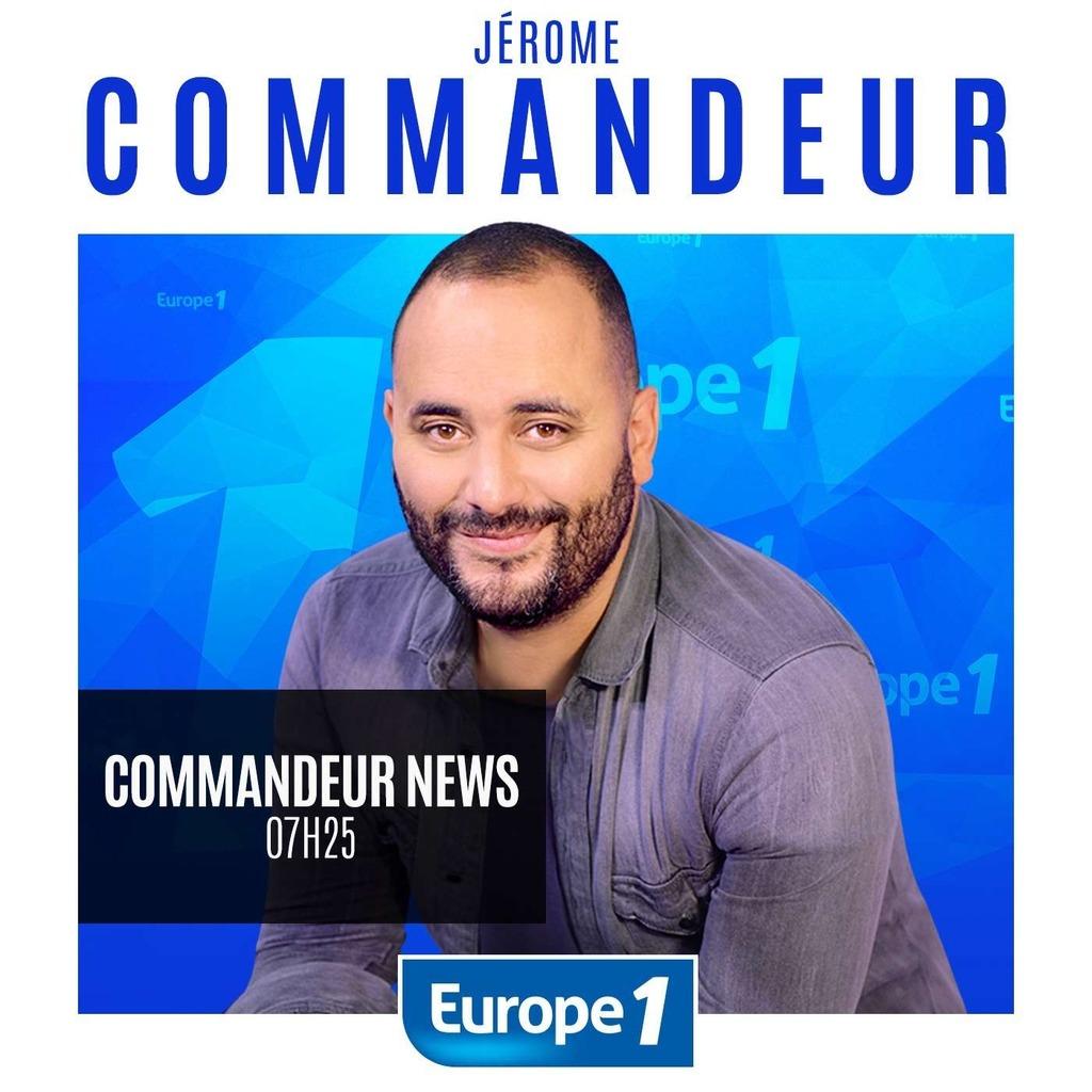 Europe 1 - Jérôme Commandeur