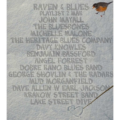 Raven and Blues 2 Mar 2018