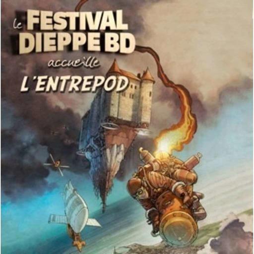 L'EntrePod au château pour le festival de la BD de Dieppe