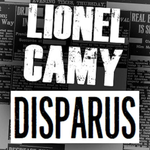 DISPARUS by Lionel Camy