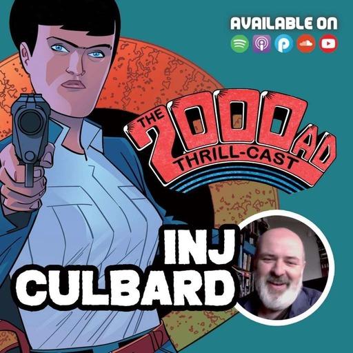 The 2000 AD Thrill-Cast Lockdown Tapes - INJ Culbard